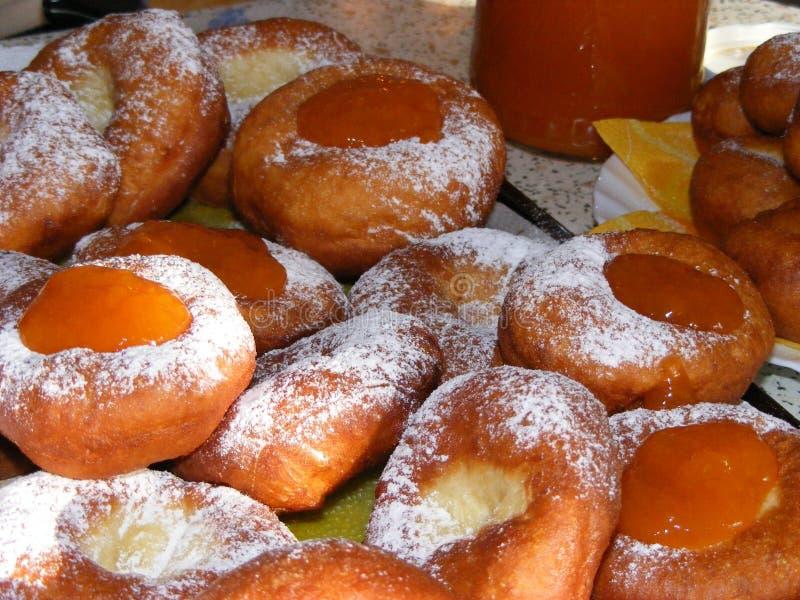 Eigengemaakte Donuts stock afbeelding