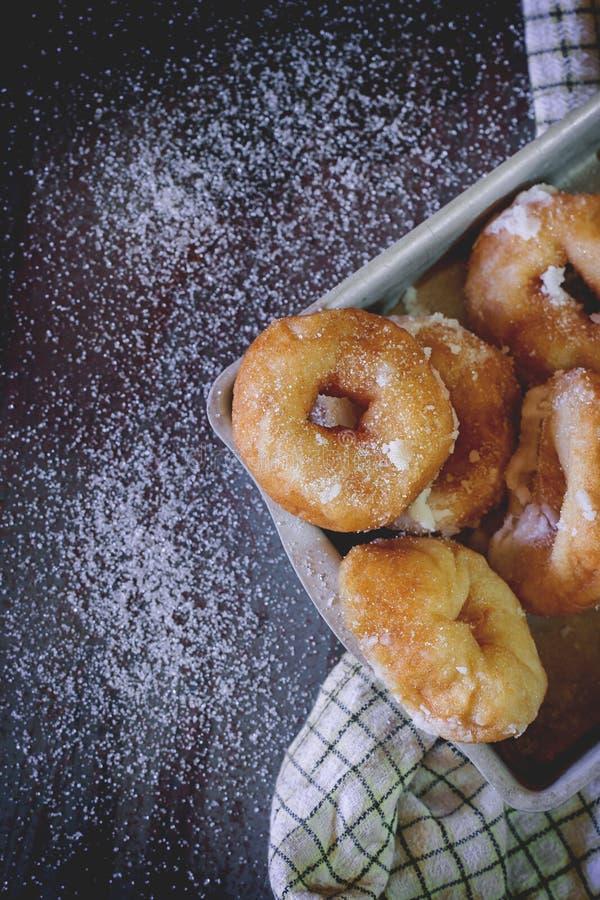 Eigengemaakte Donuts royalty-vrije stock fotografie