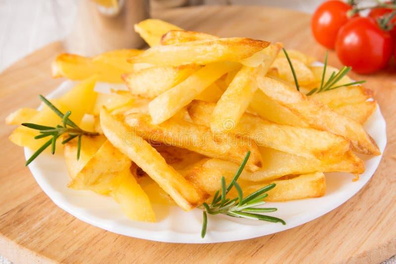 Eigengemaakte frieten stock fotografie