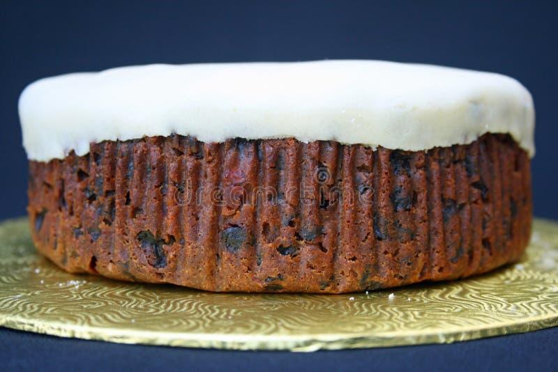 Eigengemaakte fruitcake royalty-vrije stock foto