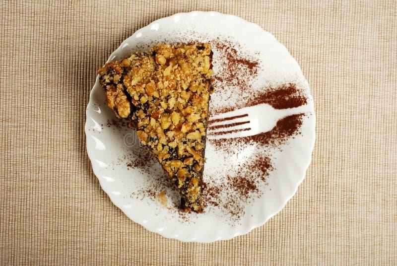 Eigengemaakte tiramisucake, Italiaans dessert stock fotografie