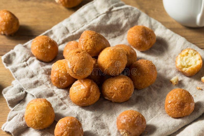 Eigengemaakte Verglaasde Doughnutgaten stock foto