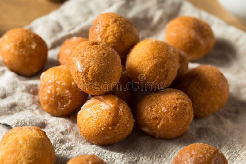 Eigengemaakte Verglaasde Doughnutgaten stock fotografie