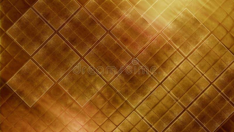 Eigentijds helder gouden het Aardewerkmateriaal van het tegel glanzend mozaïek Textuur van fijne zwart en blauwe keramische tegel stock foto's