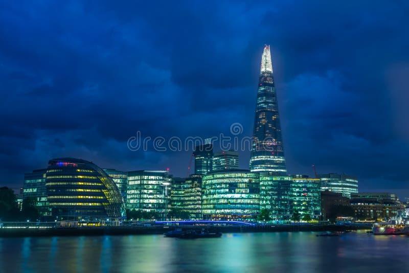 Eigentijds Londen royalty-vrije stock foto's