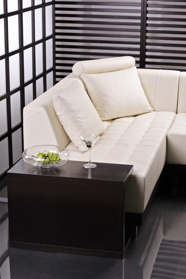 Eigentijds meubilair royalty-vrije stock afbeelding