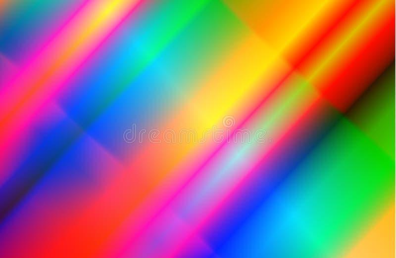 Eigentijdse retro gradiëntkleuren Nieuwe golf van de achtergrond van de de jaren '80stijl royalty-vrije illustratie