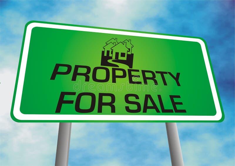 Eigentum für Verkauf lizenzfreie abbildung