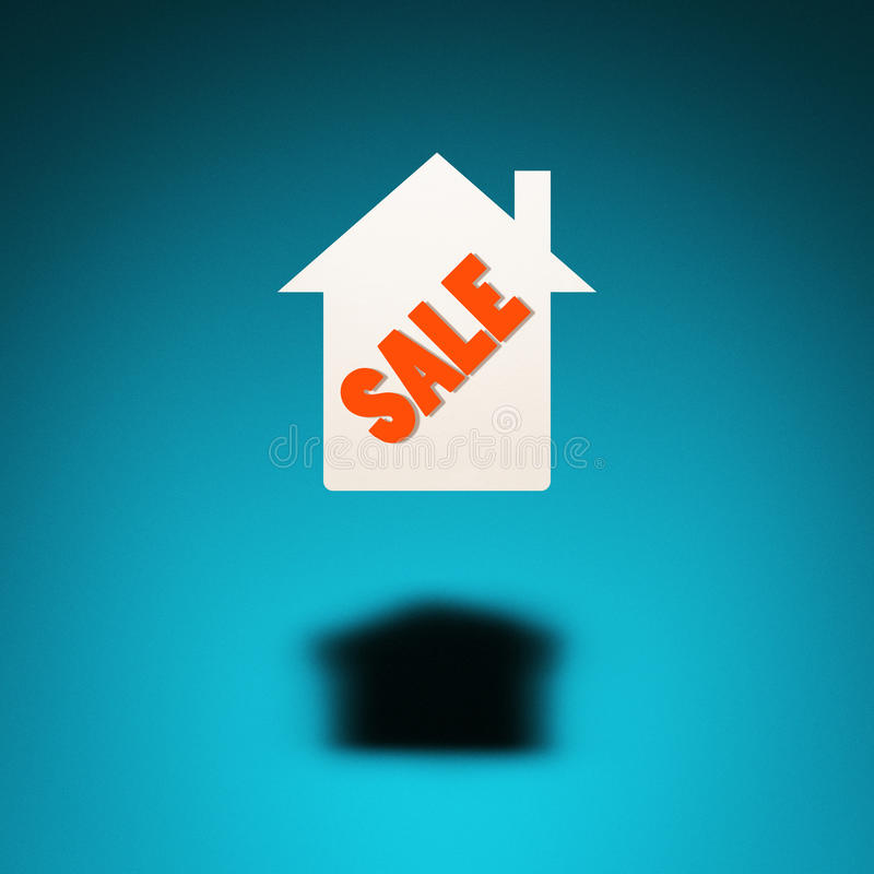 Eigentum für Verkauf stock abbildung