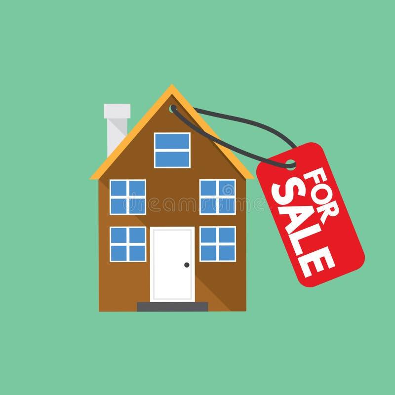 Eigentum für Verkaufs-Vektor lizenzfreie abbildung