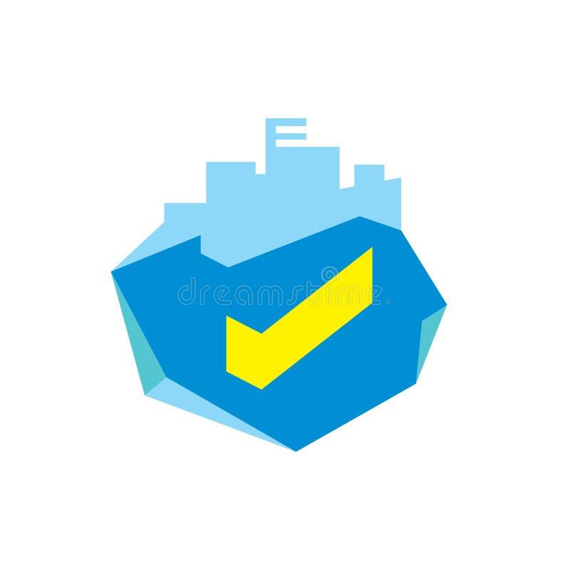 Eigentums-Auswahlzeichen lizenzfreie abbildung