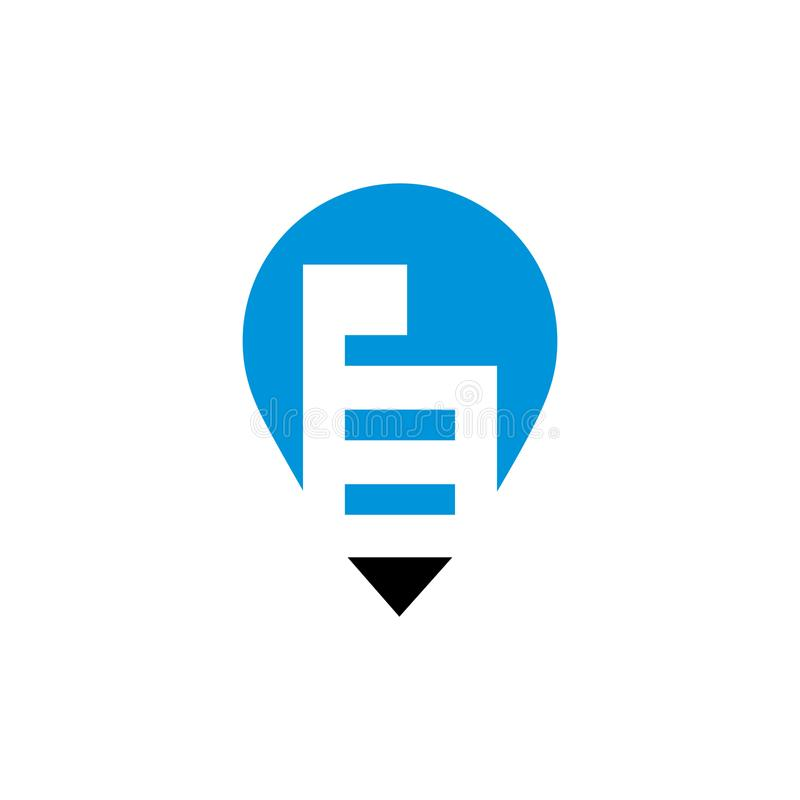 Eigentums-Zeigerzeichen lizenzfreie abbildung