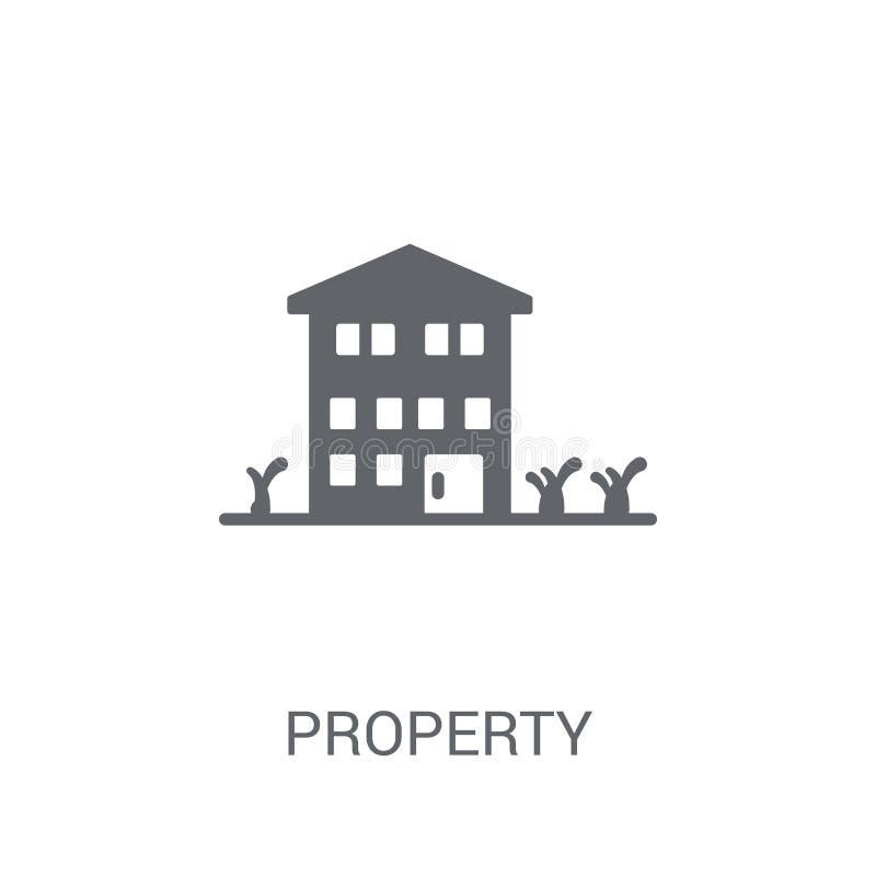 Eigentumsikone  vektor abbildung