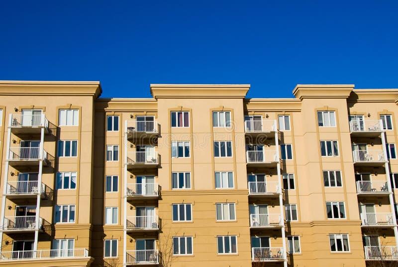 Eigentumswohnungen lizenzfreie stockfotos