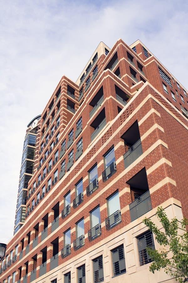 Eigentumswohnunggebäude in Denver lizenzfreies stockfoto
