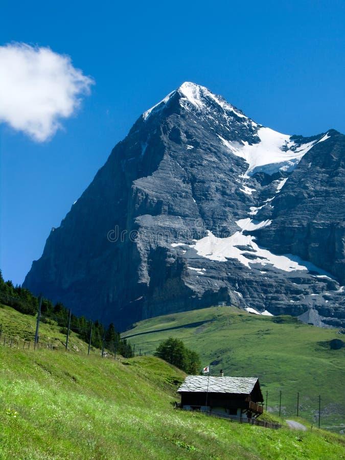 Download Eiger Mountain In Switzerland Stock Image - Image: 6223159