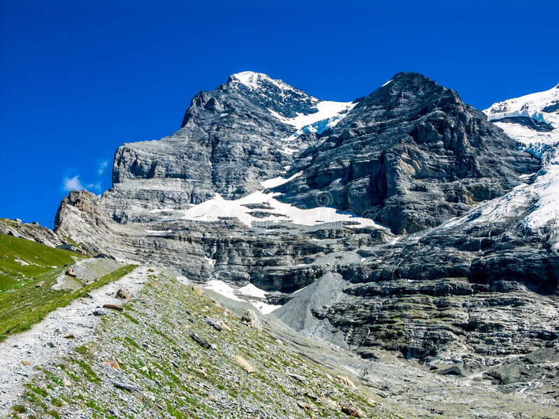 Eiger, szwajcar, Szwajcaria obraz royalty free