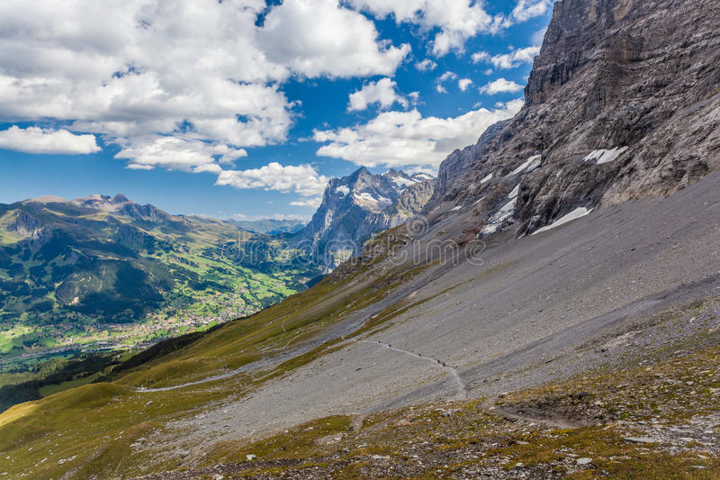 Download The Eiger Trail Royalty Free Stock Photography - Image: 26768947