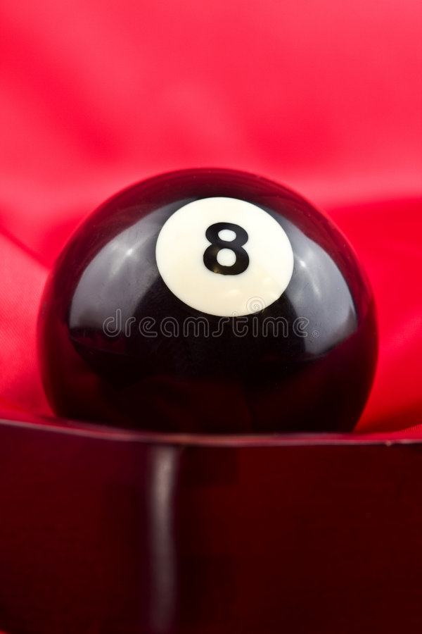Eight ball royalty free stock images