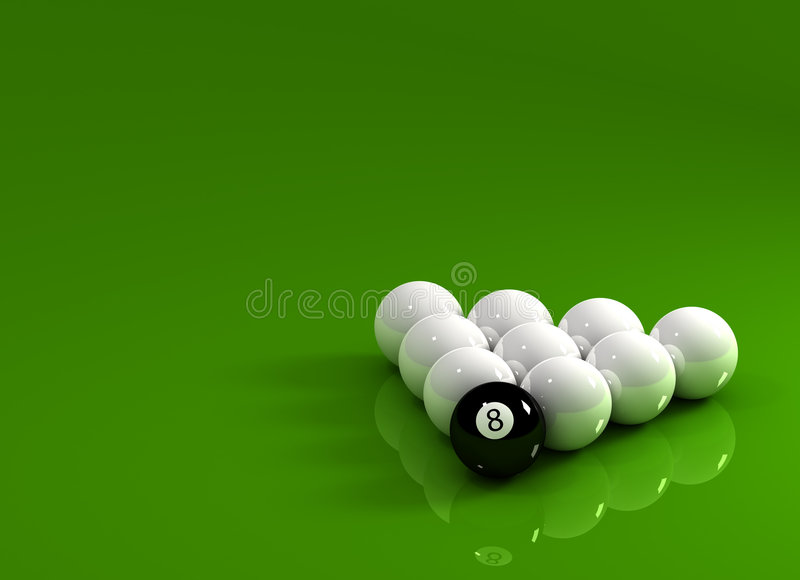 Download Eight Ball first stock illustration. Image of challenge - 5120373
