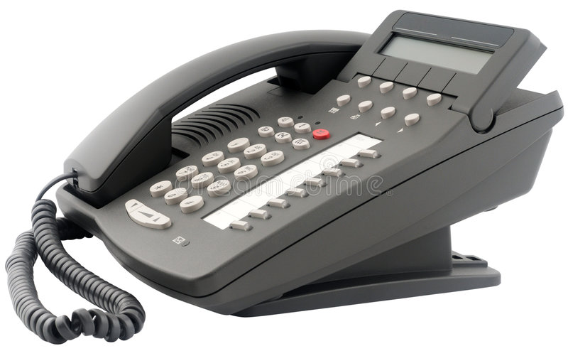 Download Eight Buttons Office Digital Telephone Stock Photo - Image: 8813378