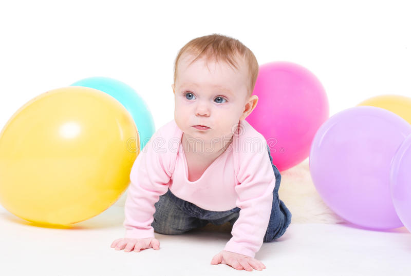 Download Eight-monthly Girl Stock Photos - Image: 19690383