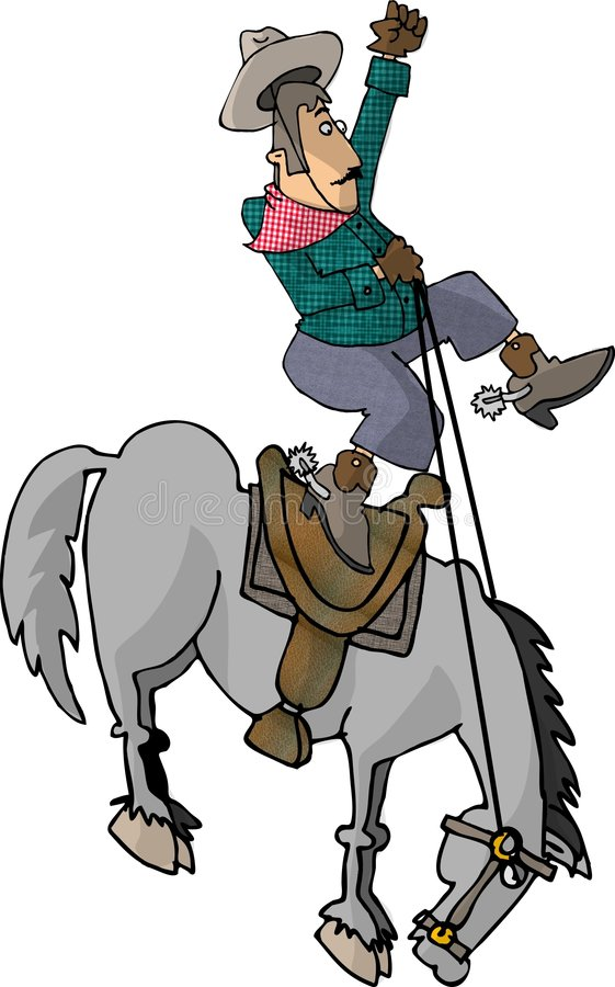 Eight second ride stock illustration