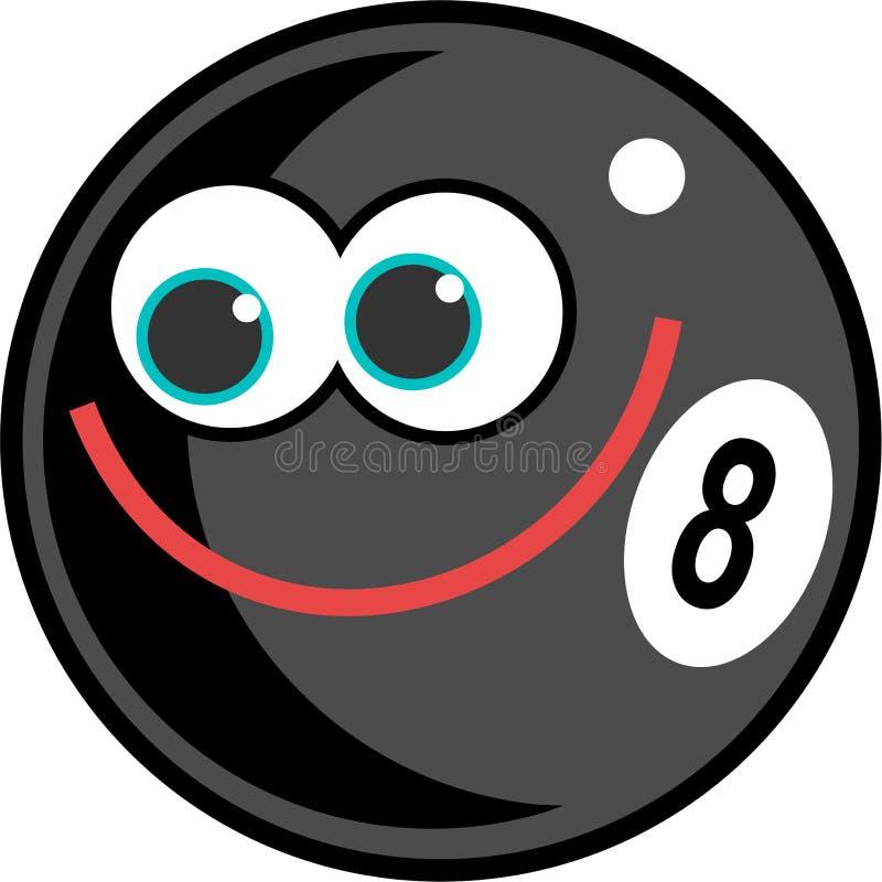 Eightball illustration de vecteur