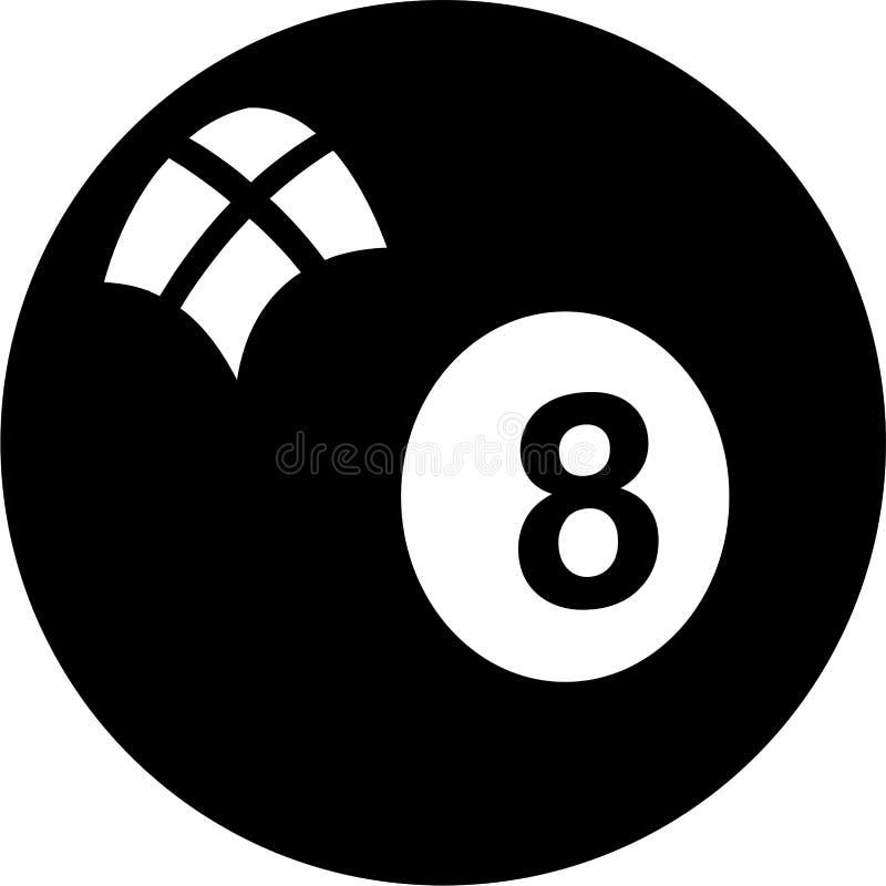 Eightball illustration libre de droits