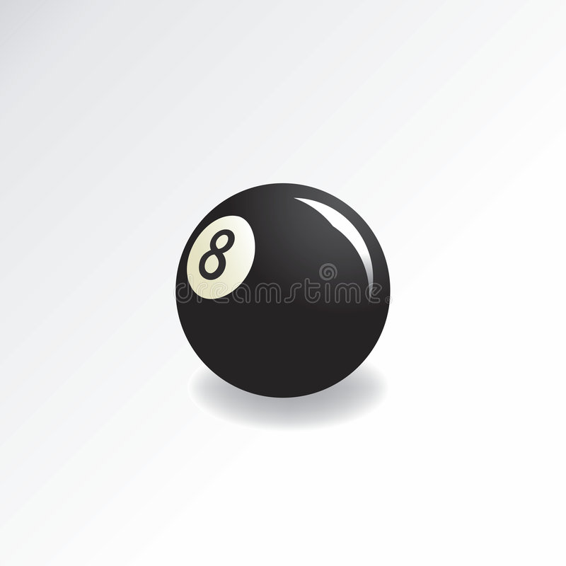 eightball illustration de vecteur