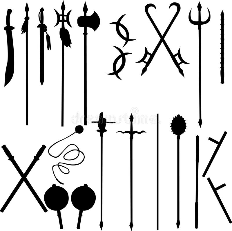 Free Eighteen Ancient Chinese Weapons Stock Images - 9470184