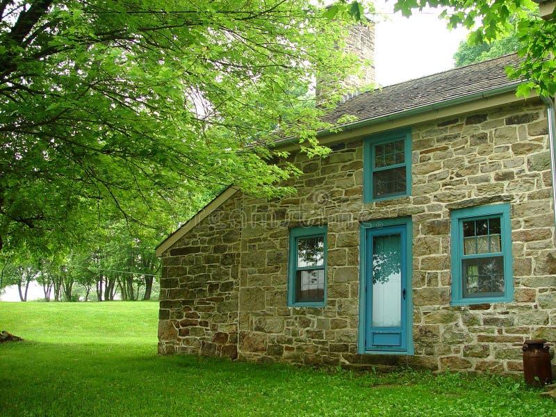 Download Eighteen century house stock image. Image of stone, century - 206375