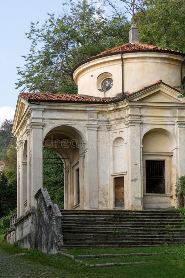 Free Eighth Chapel At Sacro Monte Di Varese. Italy Stock Images - 88687514