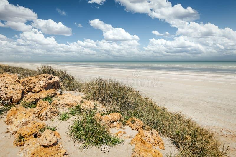 Eighty Mile Beach Australia. An image of the Eighty Mile Beach in Australia royalty free stock photography