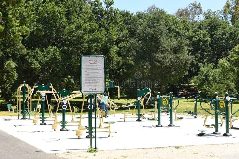 Eignungs-Bereich bei Irvine Regional Park im County, Kalifornien lizenzfreie stockbilder