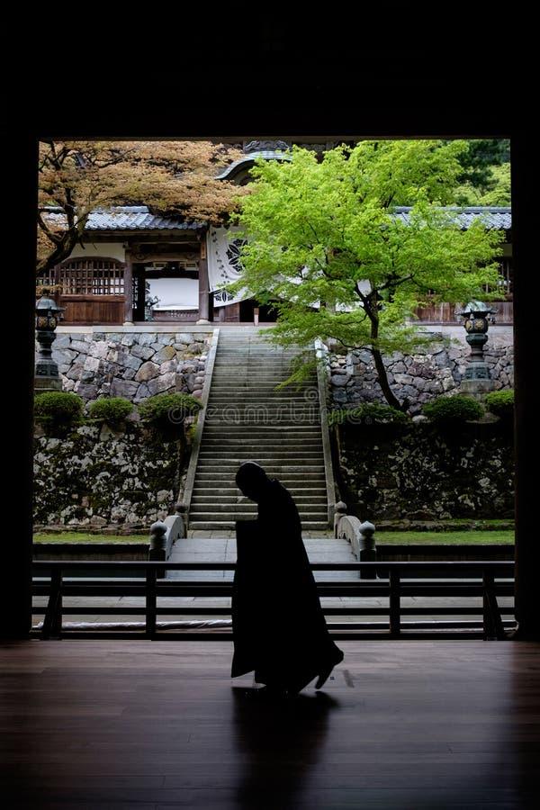 Eihei籍寺庙在日本 图库摄影