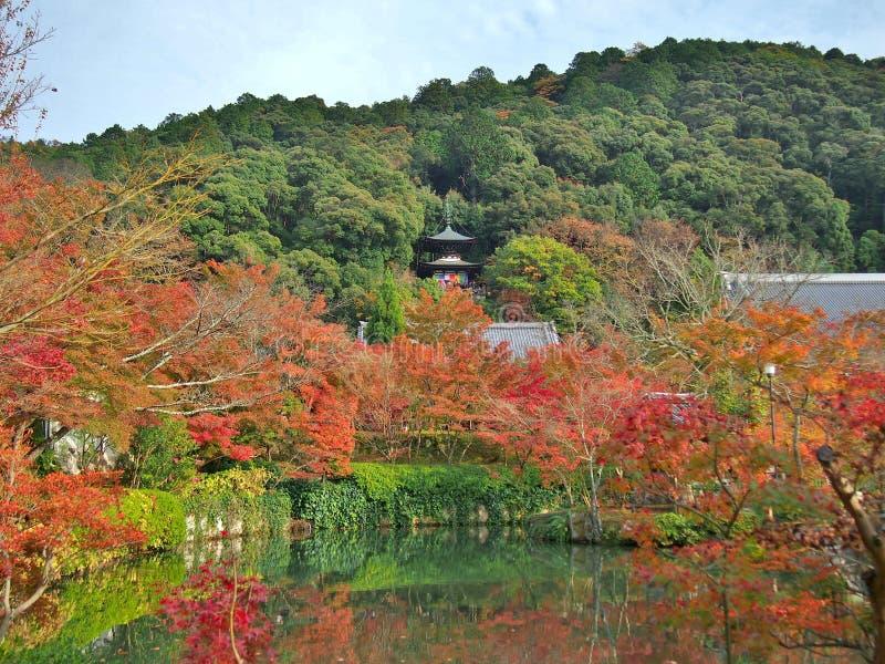 Eikan-doe tempel in Kyoto, Japan stock afbeeldingen