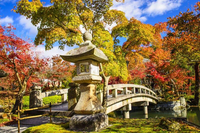 Eikando Kyoto, Japan arkivbild