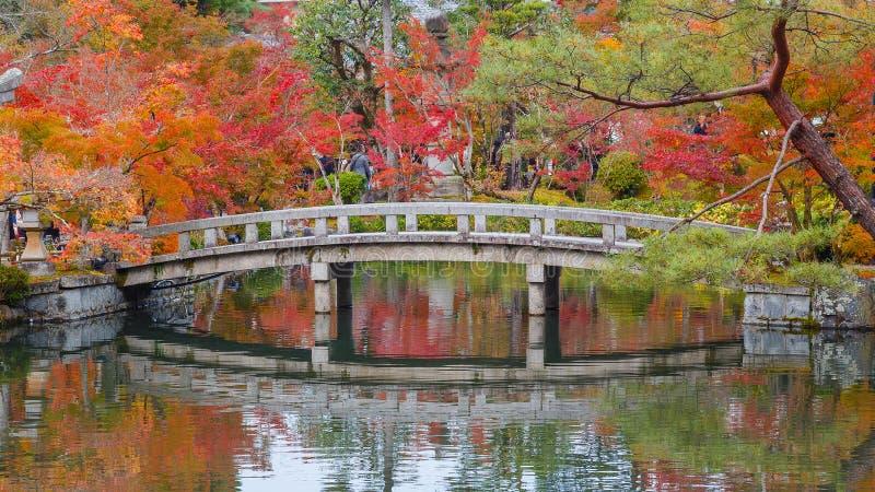 Eikando Zenrinji tempel i Kyoto, Japan arkivfoto