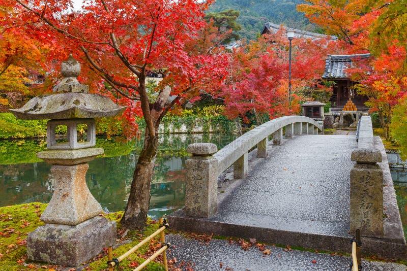Eikando Zenrinji tempel i Kyoto, Japan arkivfoton