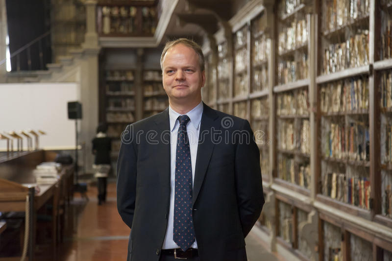 Eike Schmidt. Itay, Florence,Eike Schmidt new director of the Uffizi Gallery royalty free stock image
