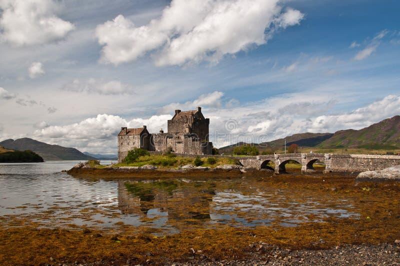 Eilan Donan城堡 免版税库存照片