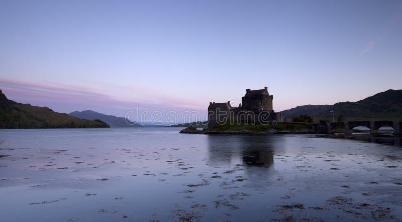 Download Eilan Donan Castle At Sunrise Stock Image - Image: 25365387