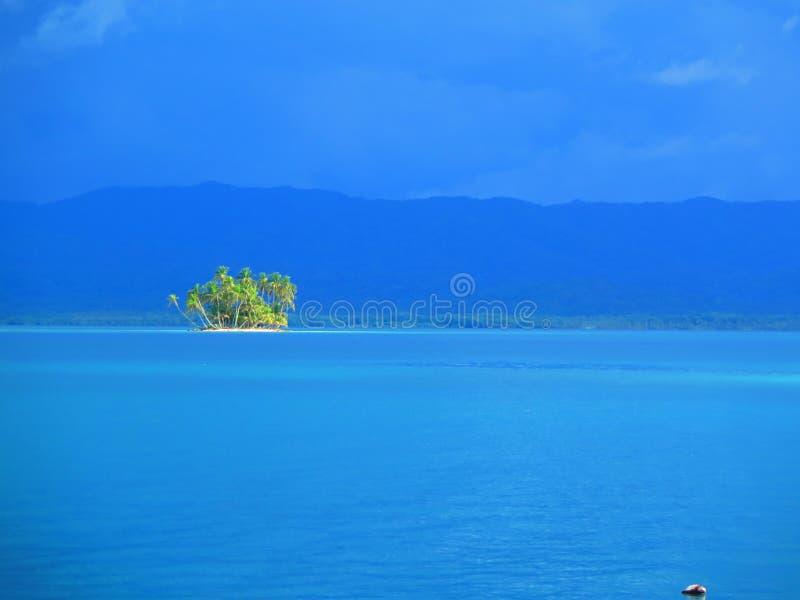 Eiland bij San Blas, Panama royalty-vrije stock fotografie