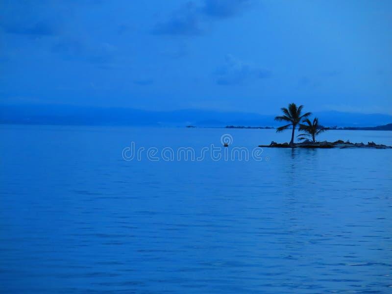 Eiland bij San Blas, Panama royalty-vrije stock afbeeldingen