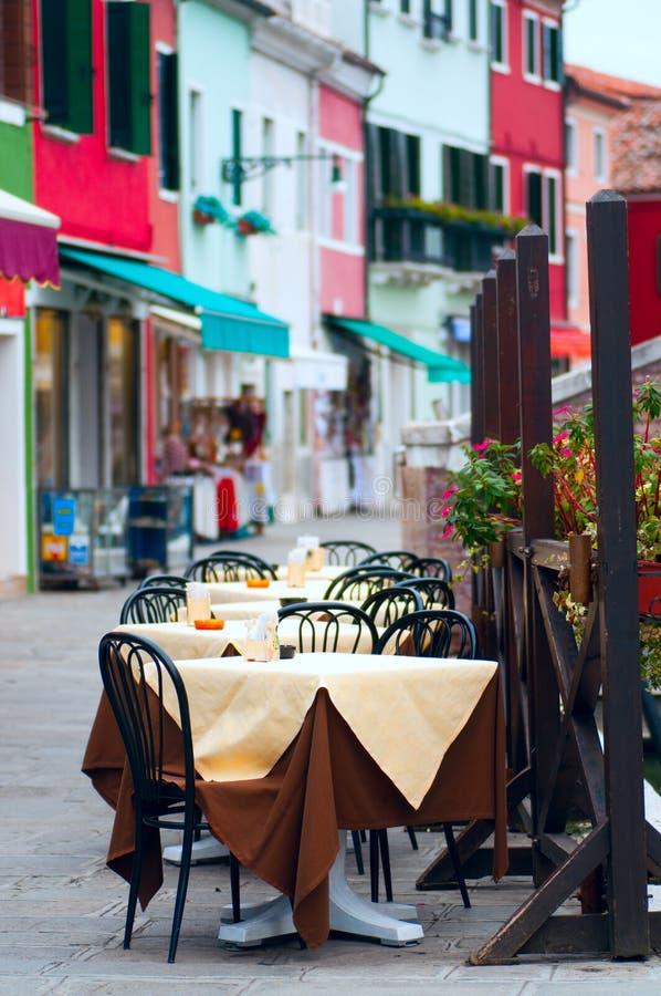 Eiland Burano/Venetië royalty-vrije stock foto's