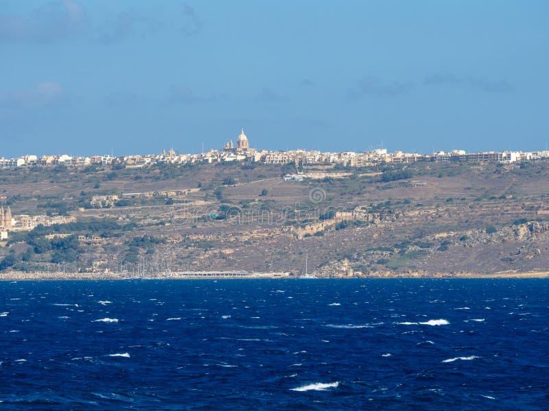 eiland Gozo royalty-vrije stock foto's