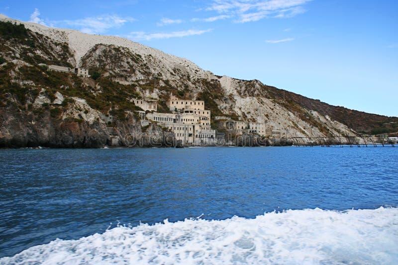 Eiland Lipari, Italië royalty-vrije stock afbeeldingen