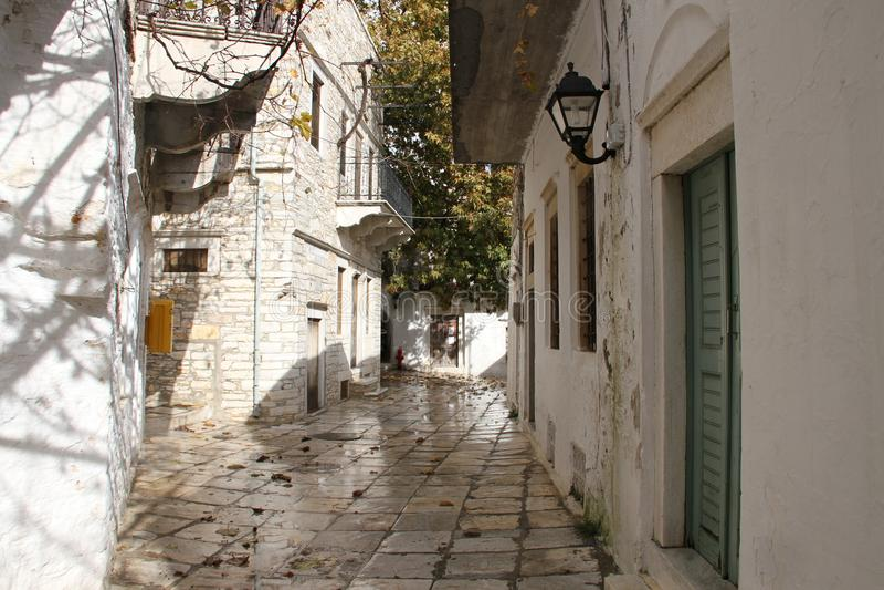 Eiland Naxos, Griekenland stock afbeelding
