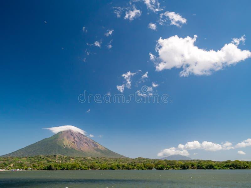 Eiland Ometepe in Nicaragua stock afbeelding